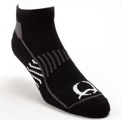 CINCH - Athletic Socks, Black (Shirt Size: Medium)